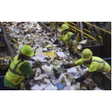 processo de reciclagem de lixo orçamento Parque da Hípica