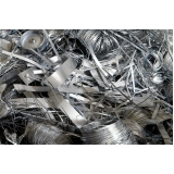 processo de reciclagem de metais Alumínio