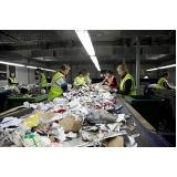 processo de reciclagem de plastico Vila Brandina