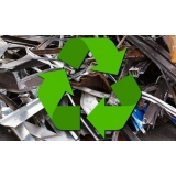 processo de reciclagem de sucata de ferro Chácara Leandro