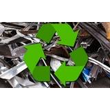 processo de reciclagem de sucata de ferro Vila Jardini