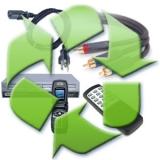 processo de reciclagem de sucata eletrônica SANTA ODILA