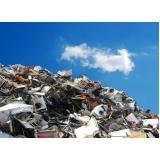processo de reciclagem de sucata metalica Pedreira