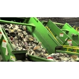 processo de reciclagem de sucatas ferrosas Condomínio Espaço Verde