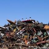 processo de reciclagem de sucatas metálicas Vila Esperança