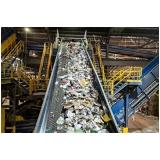 processo de reciclagem industrial Chácara Leandro