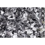 processo de reciclagem metal Jardim Seriema