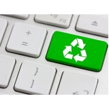 processo de reciclagem para sucata eletrônica Chácara Aeroporto