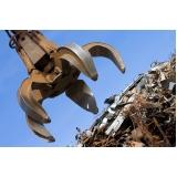 processo de reciclagem sucata de ferro Loteamento Center Santa Genebra