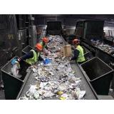 processo de reciclagem de plastico