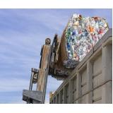 procuro empresa de reciclagem de lixo Chácara Recreio Santa Terezinha