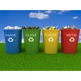 procuro empresa de reciclagem de resíduo Vila Amélia