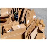 procuro empresa de reciclagem papelão Parque Maria Helena