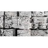 quanto custa reciclagem de papel aluminio Vila dos Ingleses