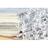 quanto custa reciclagem de papel de empresas Chácara Santa Luzia