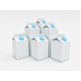 reciclagem de caixa de leite papelão Vila Rami