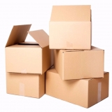 reciclagem de caixa papelão Jardim Rossin