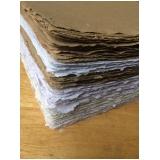 reciclagem de papel artesanal