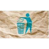 reciclagem de papel adesivo valores Jardim das Carpas