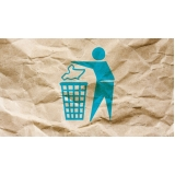 reciclagem de papel adesivo valores Vila Santa Luísa