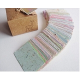 reciclagem de papel artesanal Village Campinas II