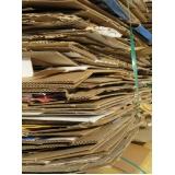 reciclagem de papel cartão Jardim Roselia