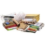 reciclagem de papel e papelão Residencial Burato