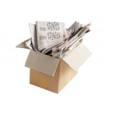 reciclagem de papel e de papelão