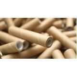 reciclagem tubo de papelão