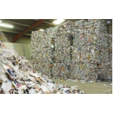 reciclagens de papel e cartão Vila Casa Nova