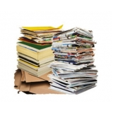 reciclagens de papel e papelão Jardim Santa Genebra