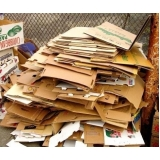 serviço de reciclagem de caixa papelão SANTA ODILA