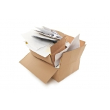 serviço de reciclagem de papel e papelão Vista Alegre