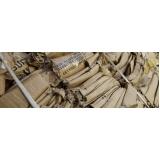 serviço de reciclagem de papelão absorvente São José da Pedra Santa