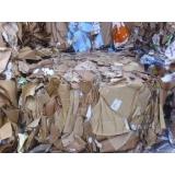 serviço de reciclagem de papelão ondulado Vila Jardini