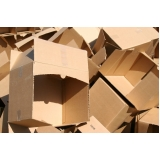 serviço de reciclagem de papelão Vila Santa Luísa